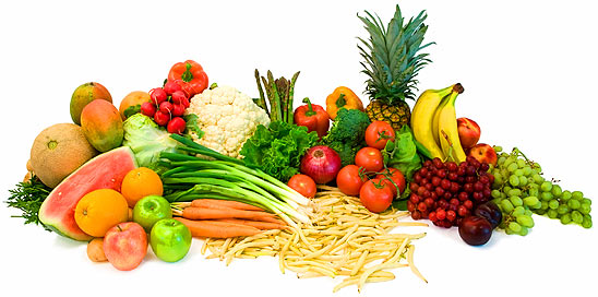 Image result for raw vegetables and fruits