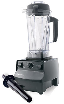 This Vitamix model has 3 main hardware controls which we like. : )