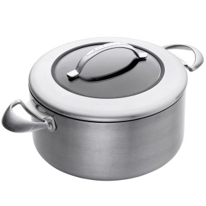 Scanpan's amazing Dutch oven stockpot - nonstick, durable, non-toxic, metal utensils, lifetime guarantee